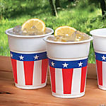 Cups with Patriotic Design