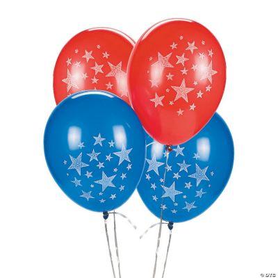 Latex Patriotic Balloons