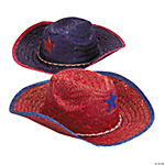 Child's Patriotic Cowboy Hats With Star