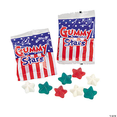 Gummy Star Treat Packets