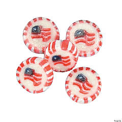 American Flag Hard Candy