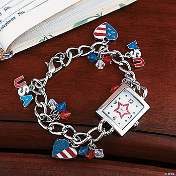patriotic charm watch oriental trading discontinued
