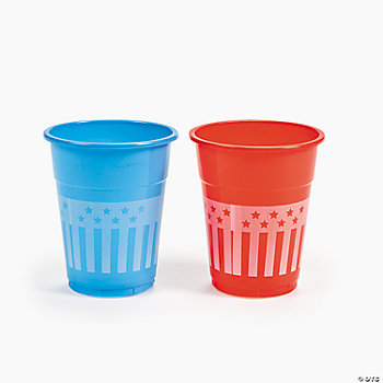 Patriotic Disposable Cups