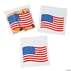 Patriotic Resealable Bags