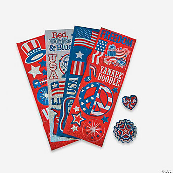 Patriotic Sticker Sheets
