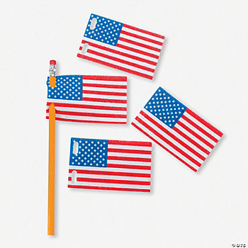 Flag Pencil Pennants