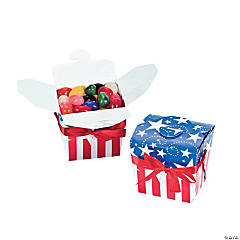 Patriotic Takeout Boxes