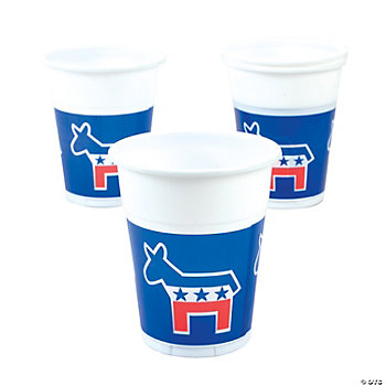 Democrat Disposable Cups