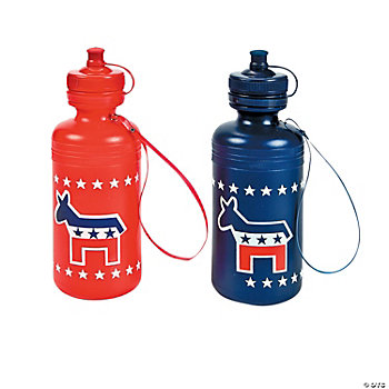 12 Democrat Water Bottles