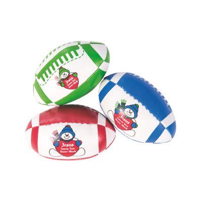 Religious snowmen Christmas football toys