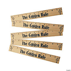 """The Golden Rule"" Rulers"