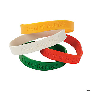 """Fired Up For Faith!"" Bracelets"