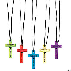 Bright Cross Necklaces