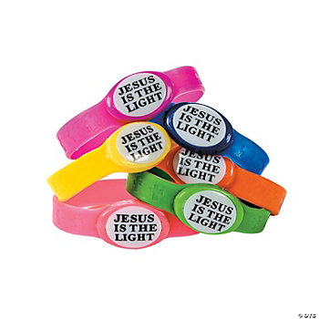 """Jesus Is The Light"" Bracelets"
