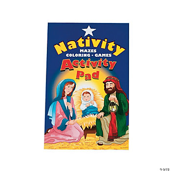 Nativity Activity Pads