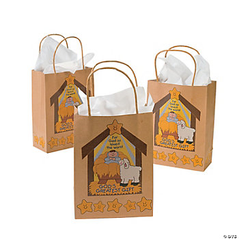 """God's Greatest Gift"" Gift Bags"