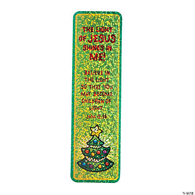 """Let Jesus' Light Shine"" Prism Bookmarks"