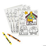 "Color Your Own ""God's Greatest Gift"" Stickers"