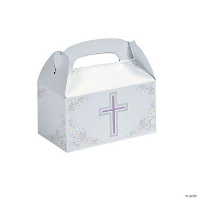 Inspirational Cross Treat Boxes