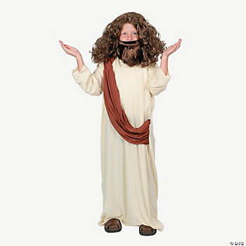 Biblical Brown Child Wig