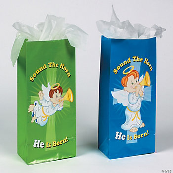 """Sound The Horn"" Gift Sacks"
