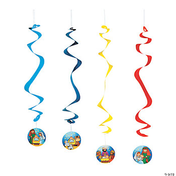 Nativity Dangling Swirls
