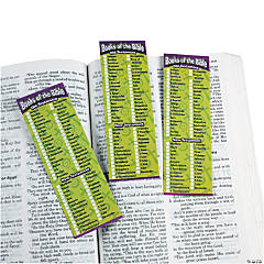 """Books Of The Bible"" Bookmarks"
