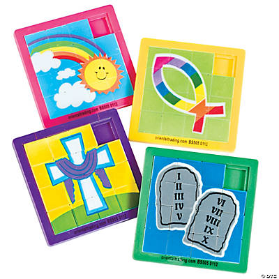 Easter Inspirational Slide Puzzles