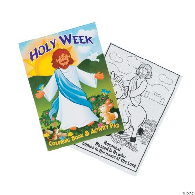 """""""Holy Week"""" Activity Pads"""