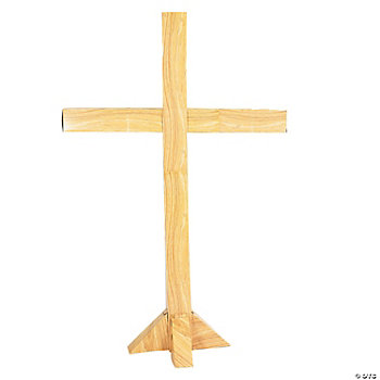 Cardboard Cross Stand-Up