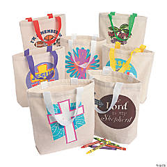 Religious Tote Bag Assortment