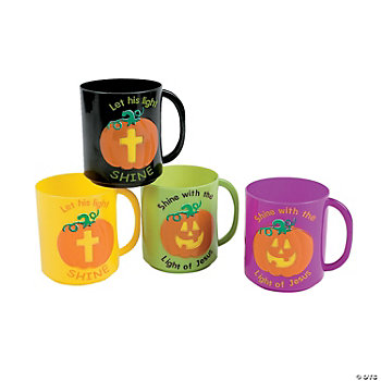 Christian Pumpkin Mugs