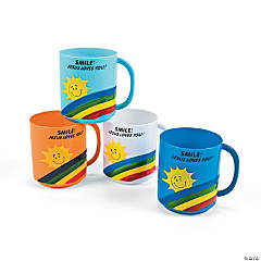"""Smile! Jesus Loves You!"" Mugs"