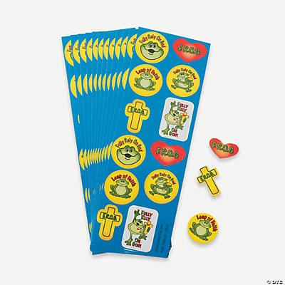 F R O G Sticker Strips Oriental Trading Discontinued