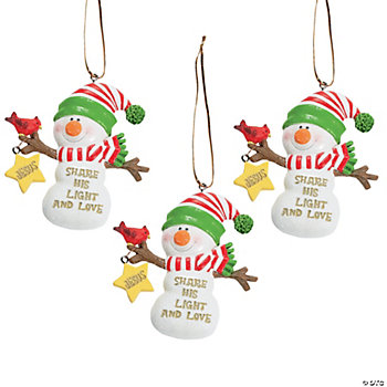 """Share His Light"" Ornaments"