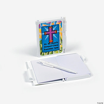 Personalized Religious Notepad Cases With Pen