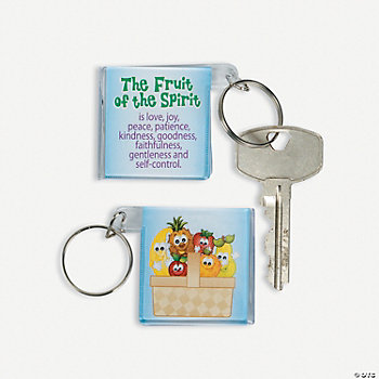 Fruit Of The Spirit Key Chains