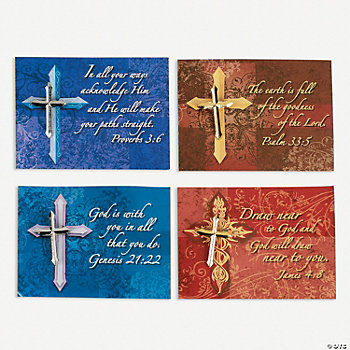Expressions Of Faith Pins On Card