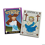 Stations of the Cross Coloring Books