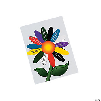 """Colors Of Faith"" Make-A-Flower Sticker Scenes"