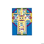 Mosaic Cross Sticker Scenes