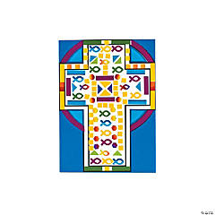 Make-A-Mosaic Cross Sticker Scenes