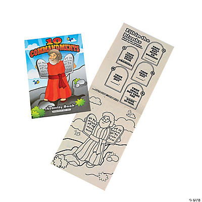 """10 Commandments"" Activity Books"