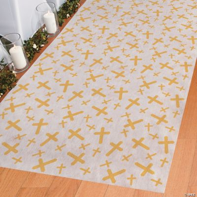 Aisle Runner with Crosses