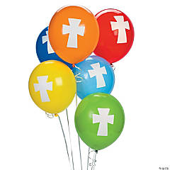 Cross Latex Balloons