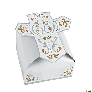 3D Cross Gift Boxes