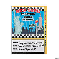 VBS New York Program Inserts