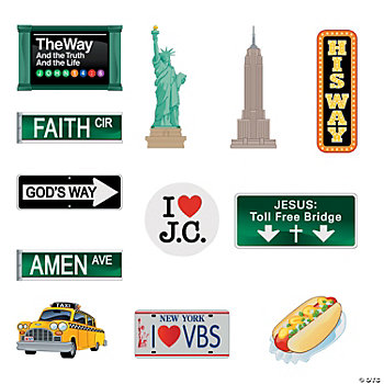 New York Sign Cutouts