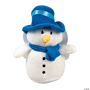 Plush Snowman Angels
