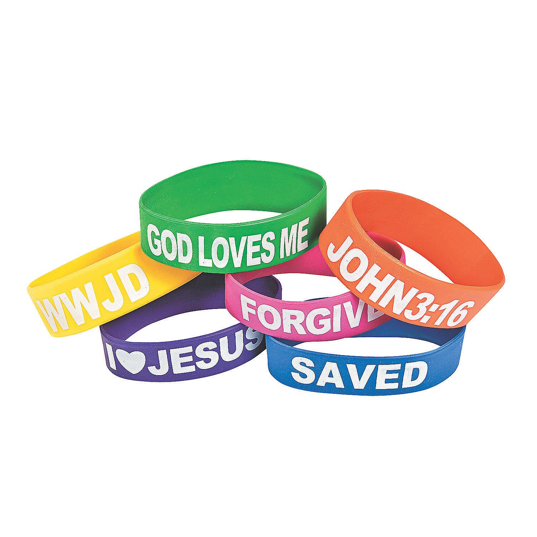 Religious Big Band Bracelets Oriental Trading